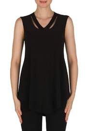 Joseph Ribkoff Black Sleeveless Tunic - Product Mini Image