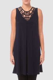 Joseph Ribkoff Black Tunic/dress - Front cropped