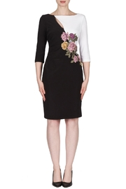 Joseph Ribkoff Black White Dress - Product Mini Image