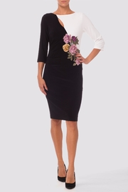Joseph Ribkoff Black/white Dress - Front cropped