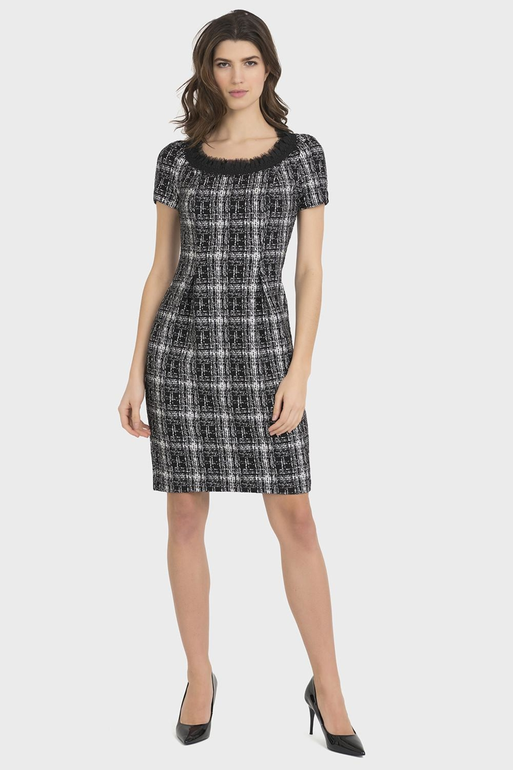 Joseph Ribkoff Black/white Dress - Main Image