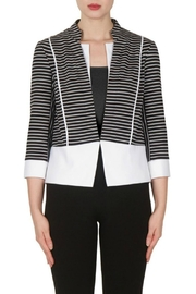 Joseph Ribkoff Black and White Jacket - Product Mini Image