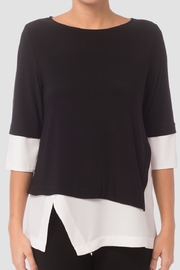Joseph Ribkoff Black/white Top - Product Mini Image