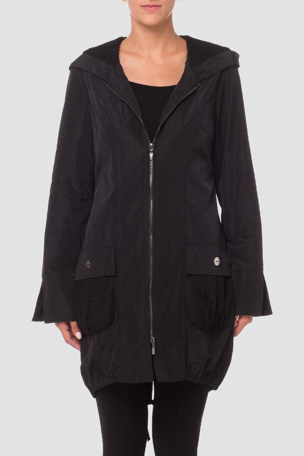 Joseph Ribkoff Black Bubble Coat from Canada by Gaia Boutique ...