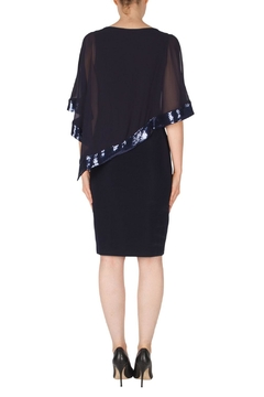 Joseph Ribkoff Cecilia Midnight-Blue Dress - Alternate List Image