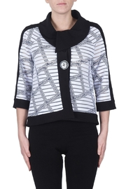 Joseph Ribkoff Check Pattern Jacket - Product Mini Image