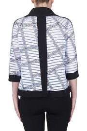 Joseph Ribkoff Check Pattern Jacket - Side cropped