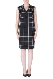 Joseph Ribkoff Check Print Dress - Product Mini Image