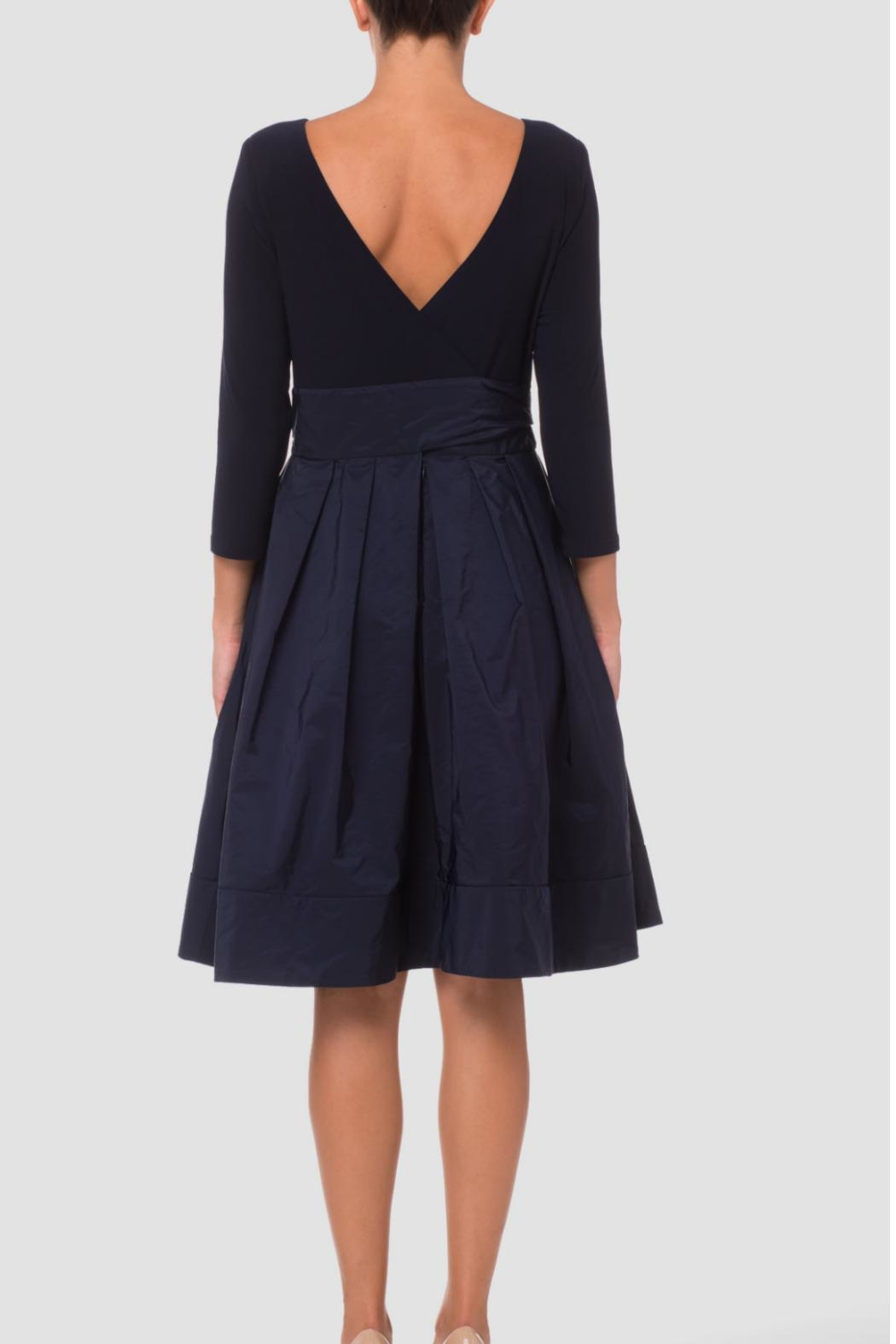 Joseph Ribkoff Cinched Waist Dress - Front Full Image