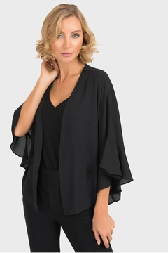 Joseph Ribkoff Clara Black Cover-Up - Product List Image