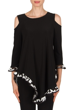 Joseph Ribkoff Cold Shoulder Tunic - Product List Image