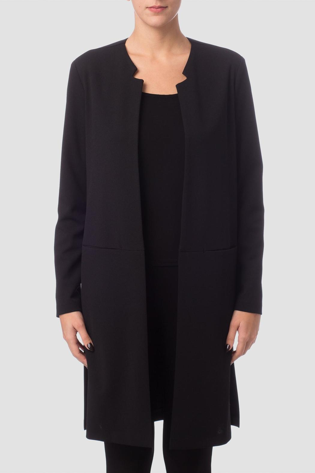 Joseph Ribkoff Collarless Long Jacket from Pennsylvania by Pasha ...