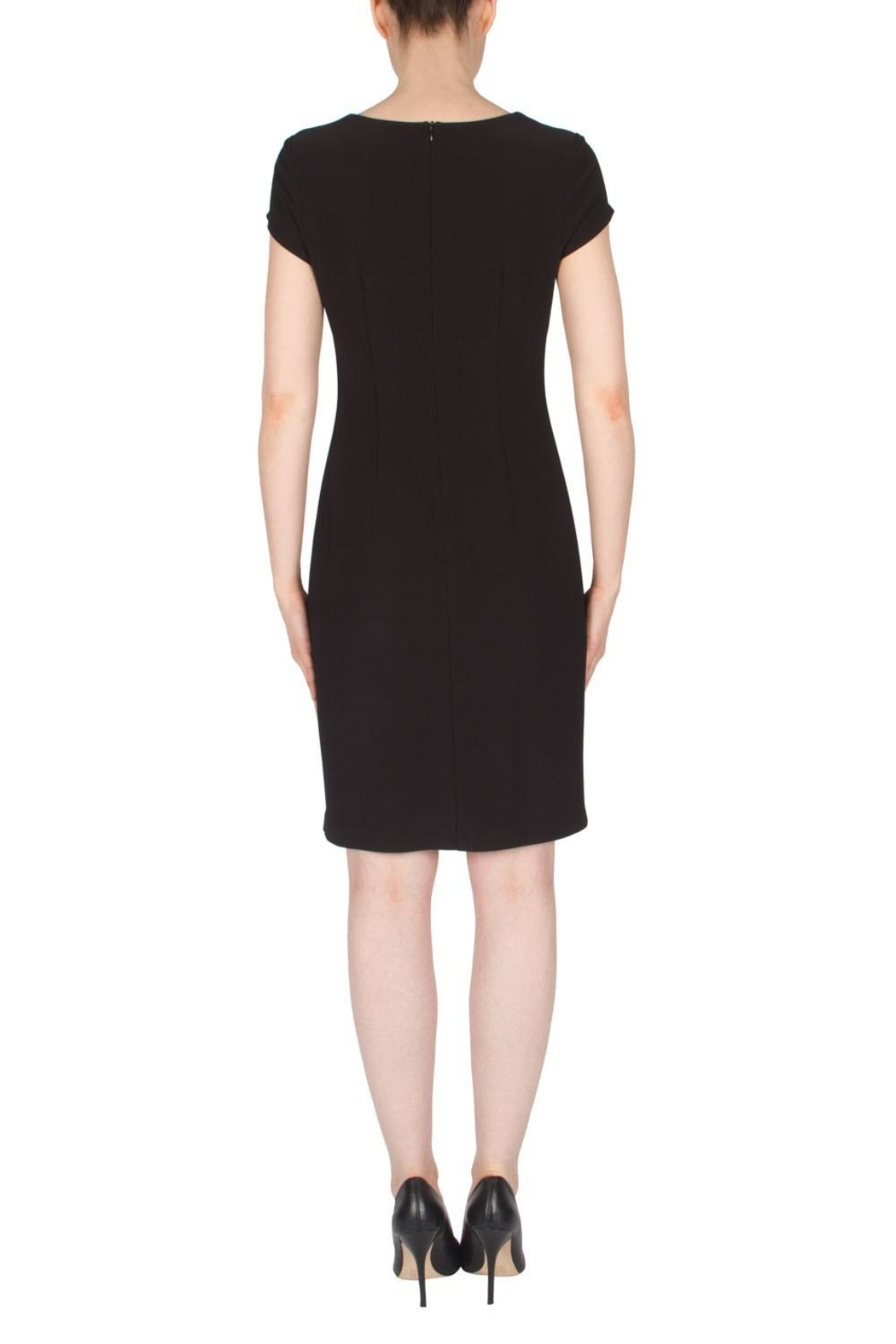 Joseph Ribkoff Color Block Dress - Side Cropped Image