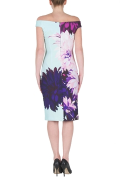 Joseph Ribkoff Colorful Dahlia Dress - Alternate List Image