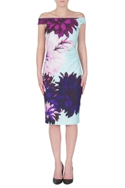 Joseph Ribkoff Colorful Dahlia Dress - Product Mini Image