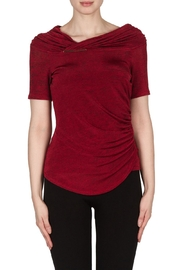 Joseph Ribkoff Cowl Style Top - Front cropped