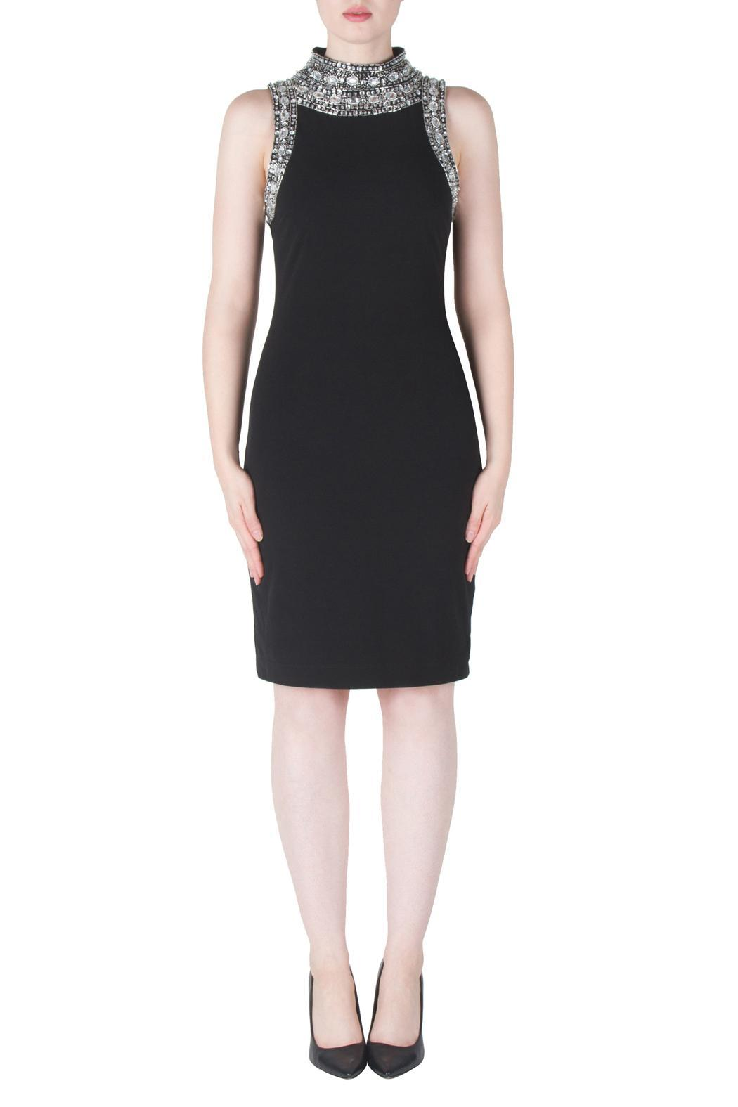 Joseph Ribkoff Crystal Neck Dress From New Jersey By
