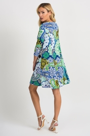 Joseph Ribkoff Crystal Printed Dress - Side cropped
