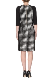 Joseph Ribkoff Cubic Pattern Dress - Side cropped