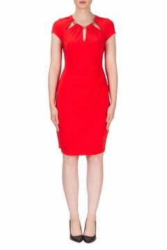 Shoptiques Product: Cut Out Red Dress