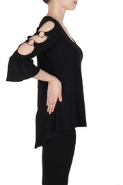 Joseph Ribkoff Cut Out Sleeve - Front full body