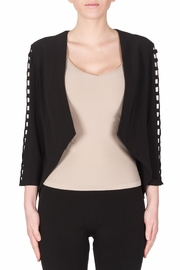 Joseph Ribkoff Cut Out Sleeves Blazer - Front cropped
