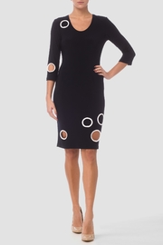 Joseph Ribkoff Cutout Black Dress - Product Mini Image