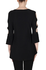 Joseph Ribkoff Cut Out Sleeve Top - Side cropped