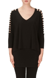 Joseph Ribkoff Cutout Sleeves Top - Product Mini Image