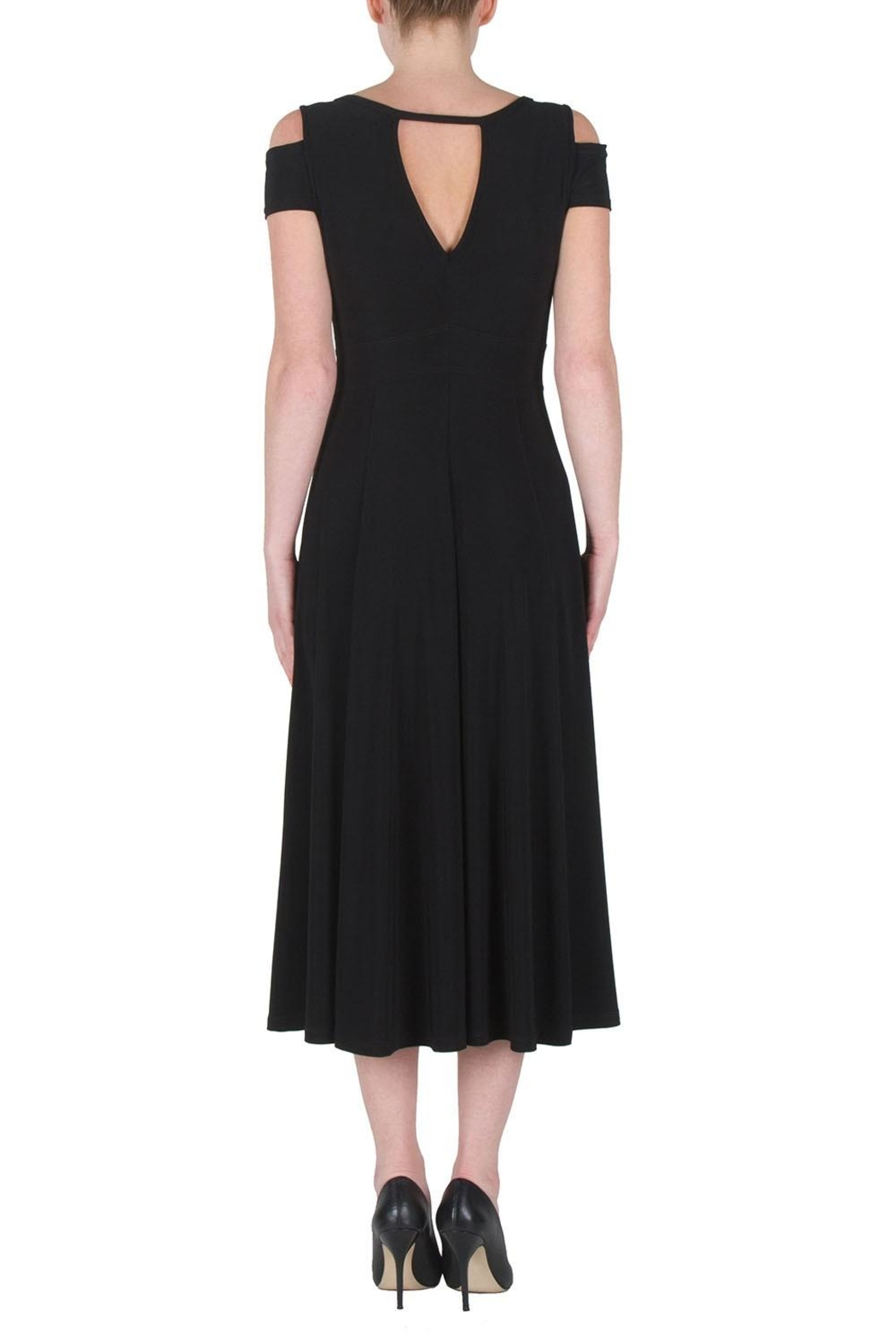 Joseph Ribkoff Cutouts Midi Dress - Side Cropped Image
