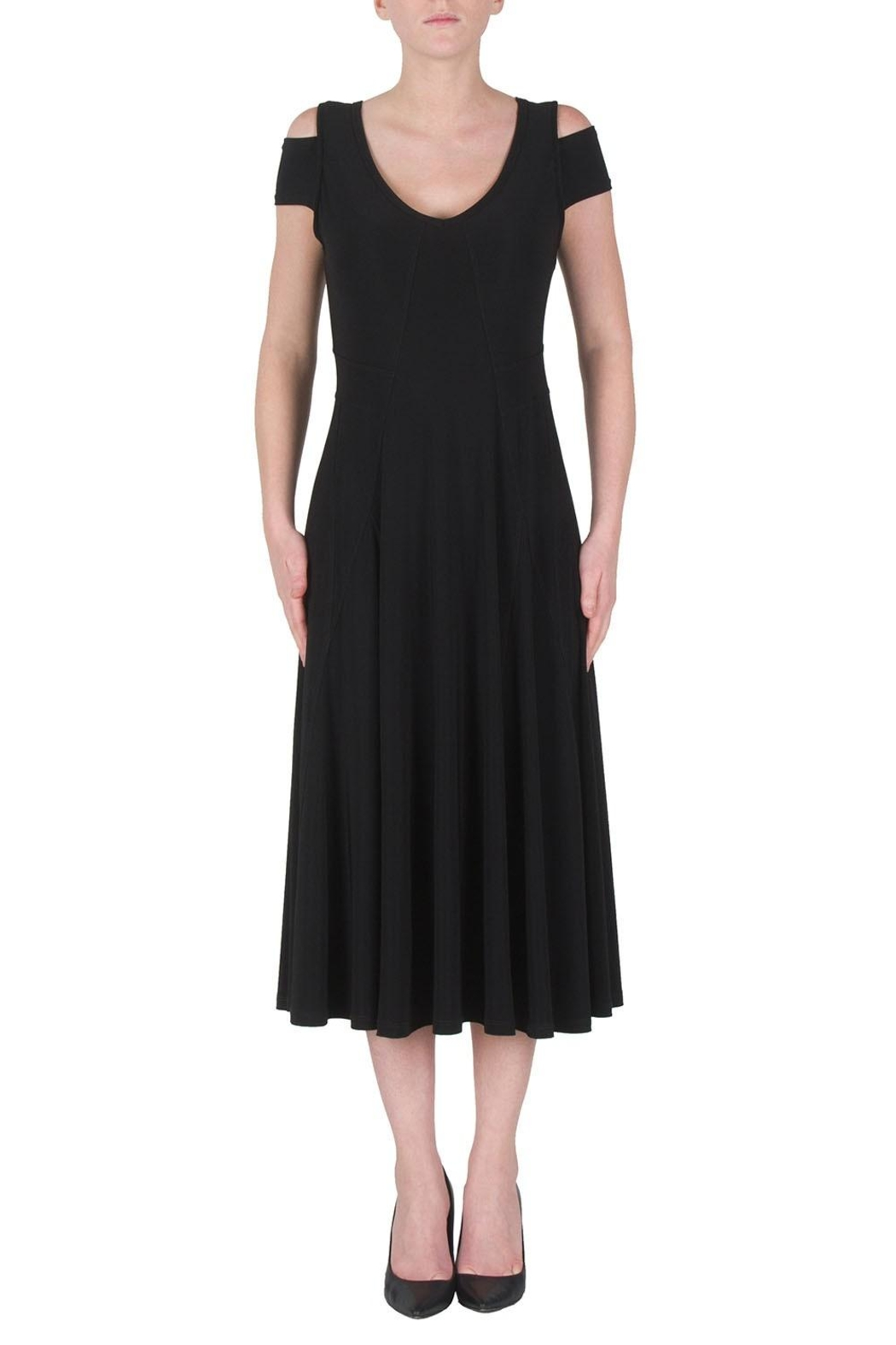 Joseph Ribkoff Cutouts Midi Dress - Main Image