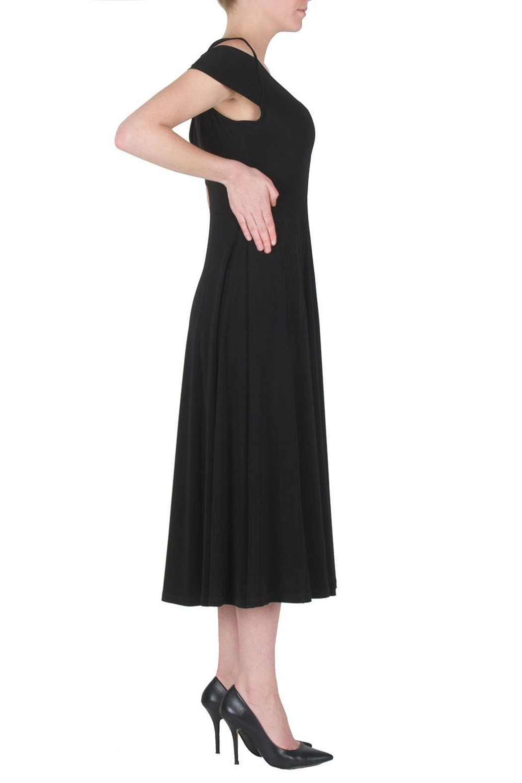 Joseph Ribkoff Cutouts Midi Dress - Front Full Image