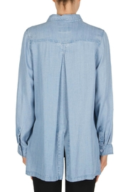 Joseph Ribkoff Denim Blouse Style - Side cropped