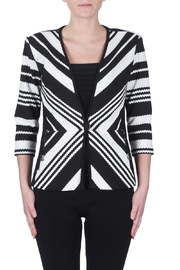Joseph Ribkoff Diagonal Striped Blazer - Product Mini Image