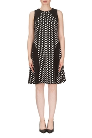 Joseph Ribkoff Dot Pattern Dress - Product Mini Image