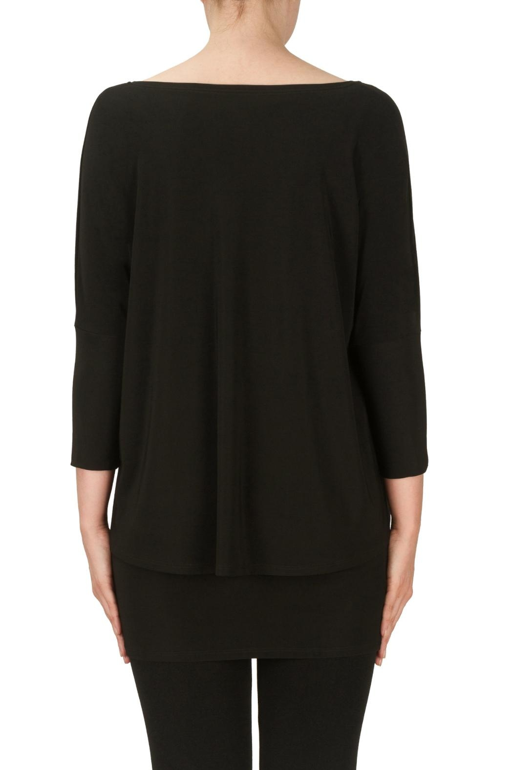 Joseph Ribkoff Double Layered Tunic - Side Cropped Image