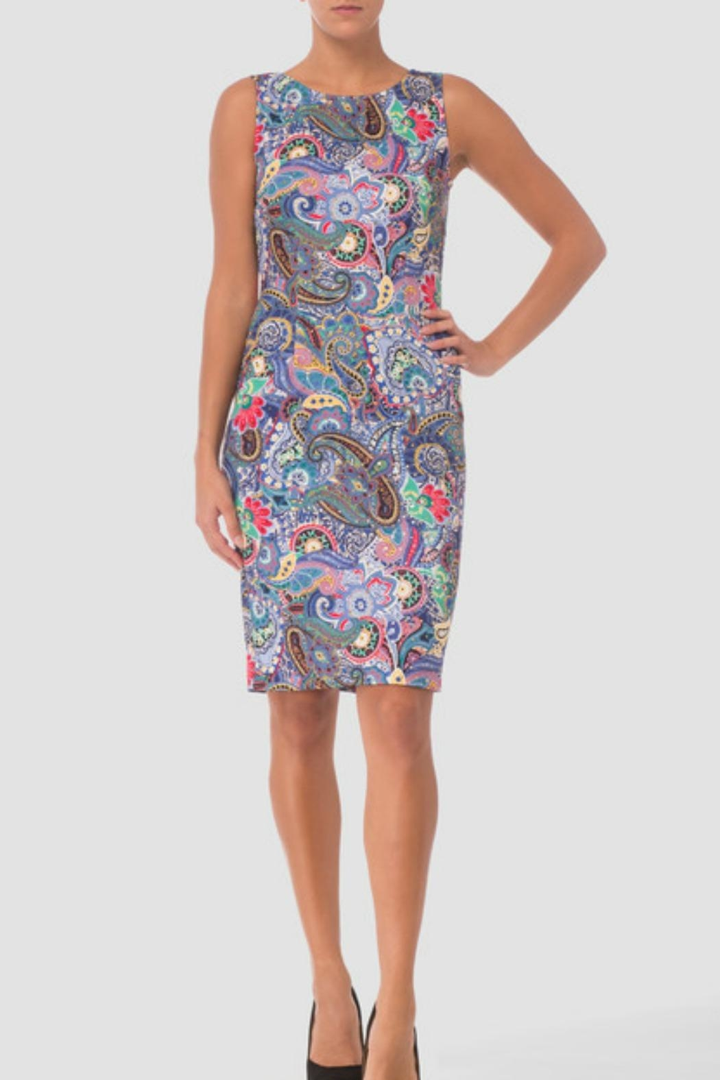 Joseph Ribkoff Dress Style - Front Cropped Image