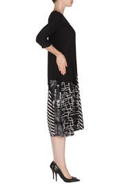 Joseph Ribkoff Eclectic Print Dress - Front full body