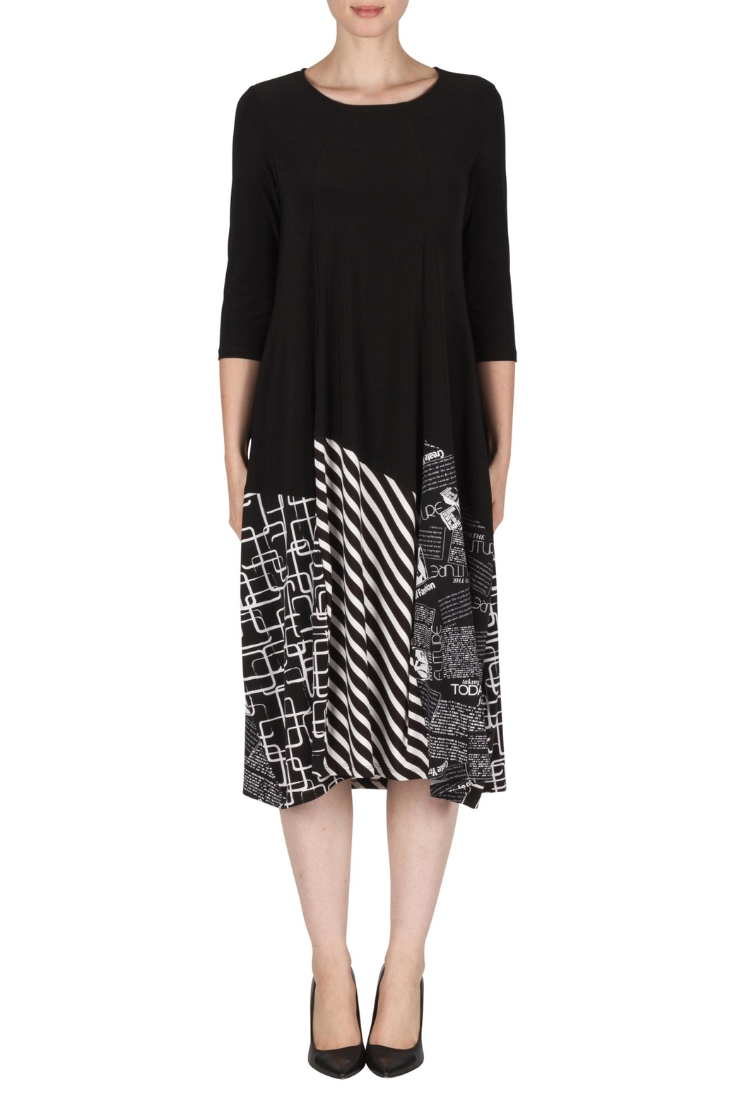 Joseph Ribkoff Eclectic Print Dress - Main Image