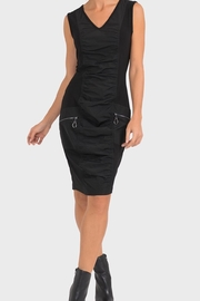Joseph Ribkoff Edgy Ruched Dress - Front cropped