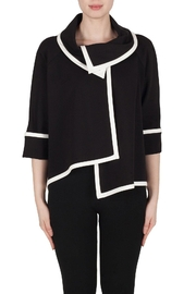 Joseph Ribkoff Elegant Black Jacket - Product Mini Image