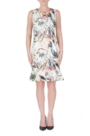 Joseph Ribkoff Exotic Floral Print Dress - Product Mini Image