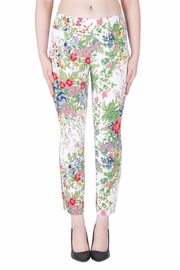Joseph Ribkoff Fabulous Floral Pant - Front cropped