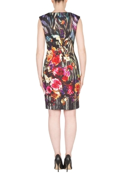 Joseph Ribkoff Fall Floral Dress - Alternate List Image
