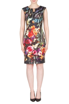 Joseph Ribkoff Fall Floral Dress - Product List Image