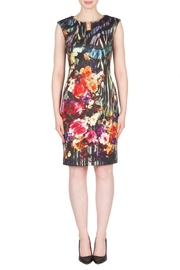 Joseph Ribkoff Fall Floral Dress - Product Mini Image