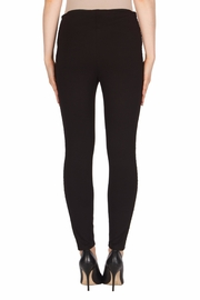 Joseph Ribkoff Faux-Leather Trimmed Pant - Side cropped