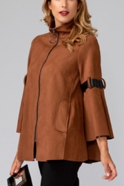 Joseph Ribkoff Faux Suede Jacket - Front cropped