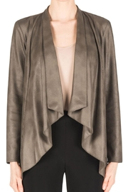 Joseph Ribkoff Faux Suede Jacket - Product Mini Image
