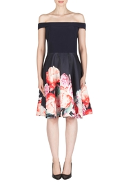Joseph Ribkoff Fit-And-Flare Floral Dress - Product Mini Image